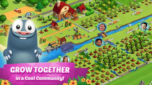 Simulation games Country friends for smartphone