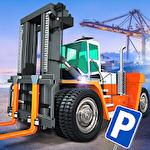 Cargo crew: Port truck driver Symbol