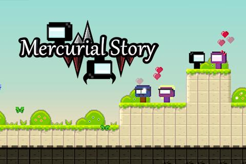 Mercurial story: Platform game Screenshot