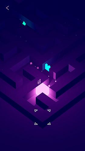 Glowing cube auf Deutsch