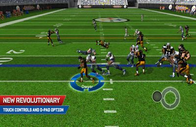 Screenshot American Football - Madden NFL 25 auf dem iPhone