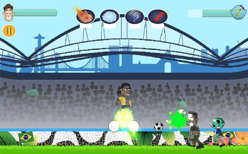 Kicking zombies für Android