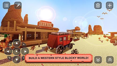 Sandbox-Spiele Wild West craft: Exploration auf Deutsch