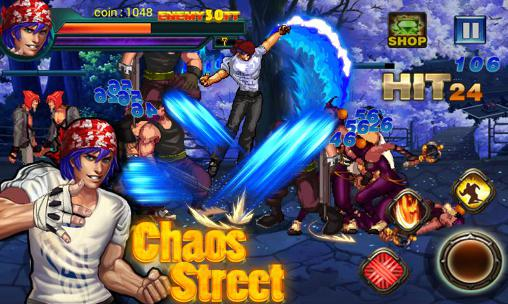 Chaos street: Avenger fighting for Android