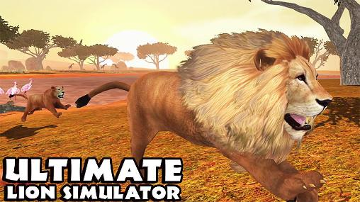 Ultimate lion simulator captura de tela 1