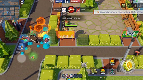 Action Cardboard clash for smartphone