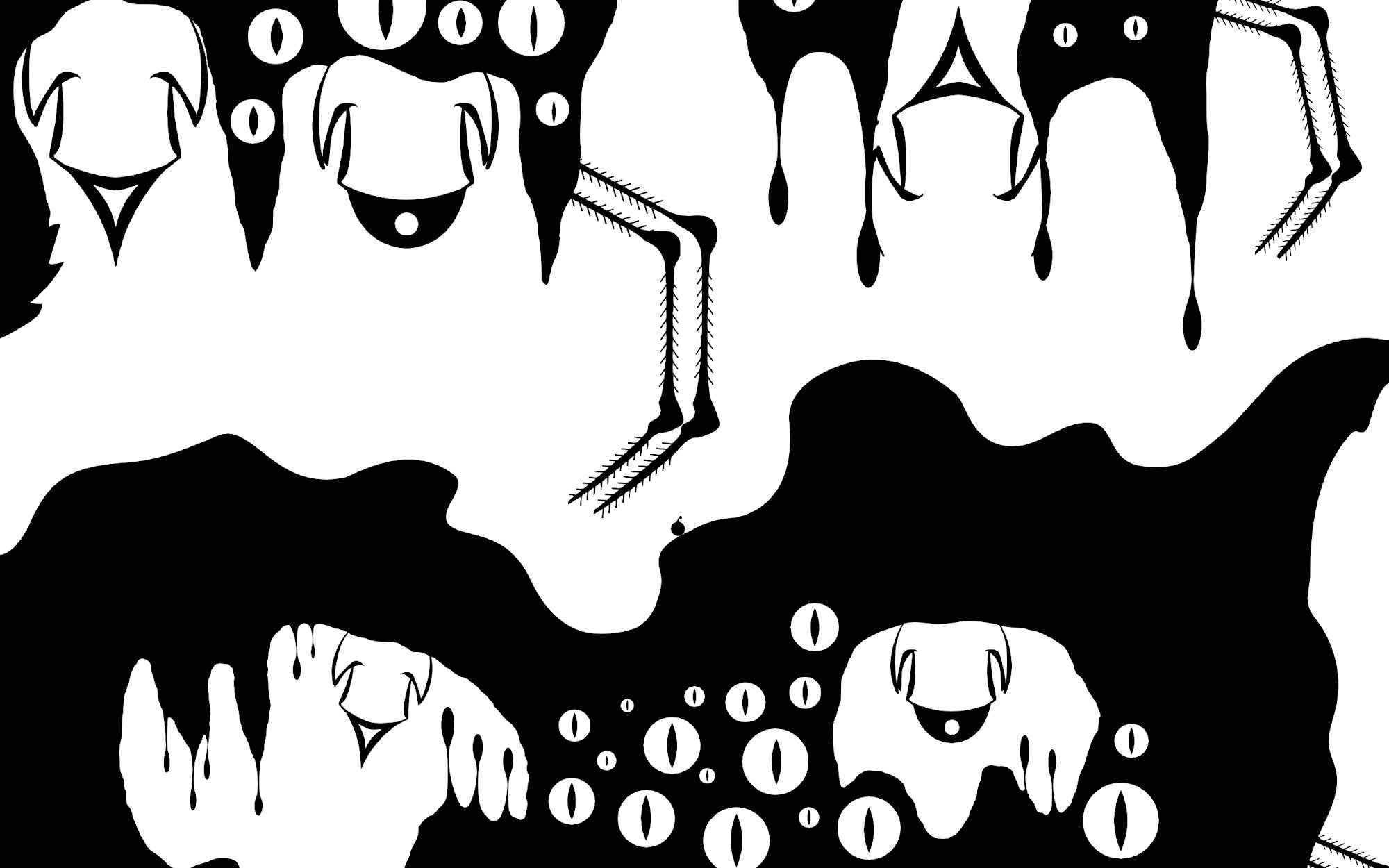 OVIVO - Black and White Platformer Game скріншот 1