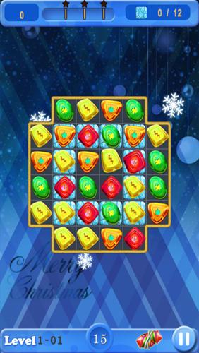 Arcade Christmas sweeper gems für das Smartphone