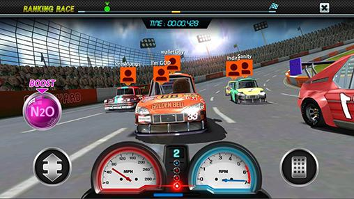 Rennspiele Pit stop racing: Club vs club für das Smartphone