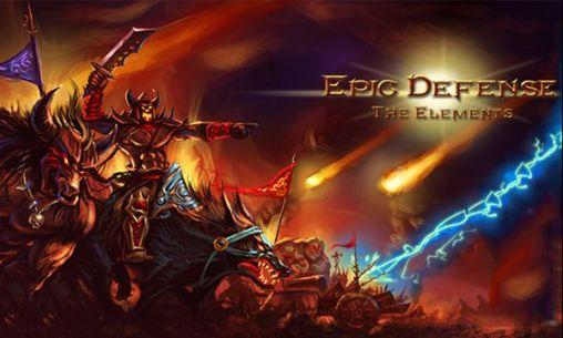 Epic defense: The elements captura de tela 1