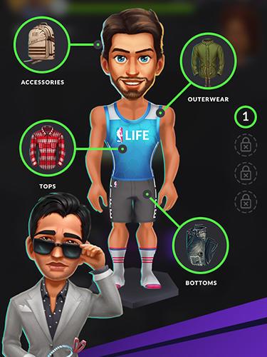 Arcade-Spiele NBA life für das Smartphone
