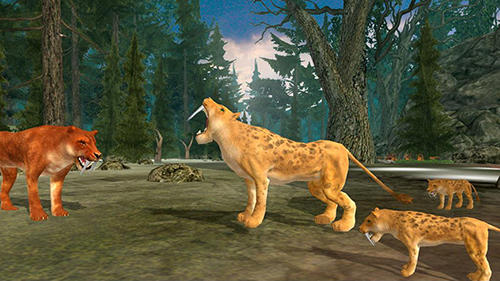 Life of sabertooth tiger 3D für Android