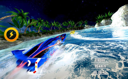 Driver speedboat paradise для Android