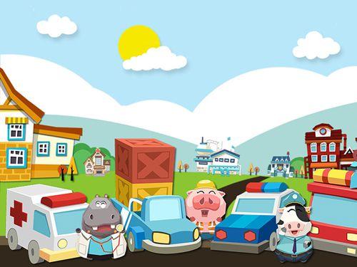 Jogos de arcade: faça o download de Carros de brinquedos de dr. Panda para o seu telefone