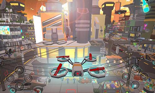 Fly drone simulator extreme auf Deutsch