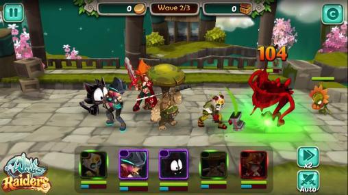 Strategie RPG Wakfu raiders auf Deutsch