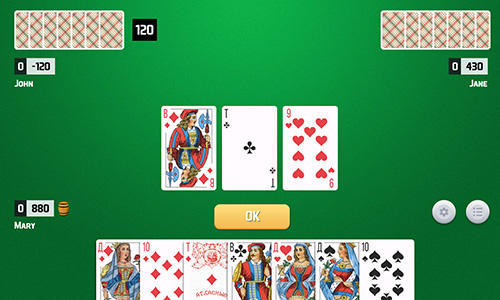 Thousand card game pour Android