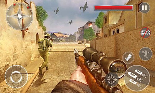 Critical army sniper: Shooting counter para Android