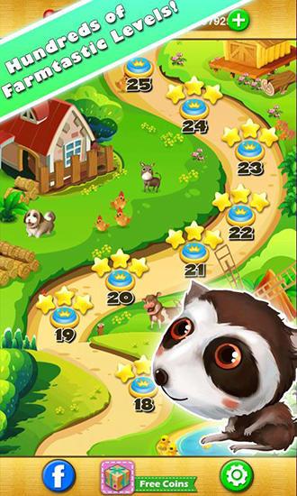Arcade-Spiele Garden fever für das Smartphone