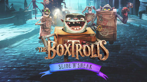 The boxtrolls: Slide and sneak icon