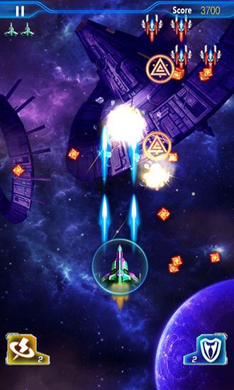 Arcade games Raiden fighter: Galaxy storm for smartphone