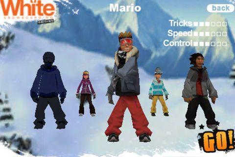 Snowboard avec Shaun White: Origine en russe