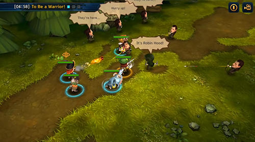 Amusing heroes: Strategy RPG für Android