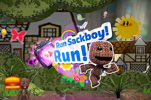 logo Cours, Sackboy! Cours!