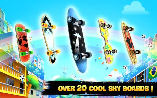 Skyline skaters: Welcome to Rio für Android
