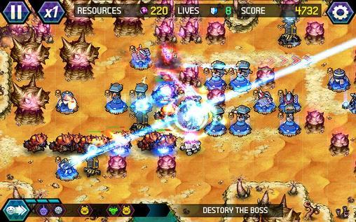 Tower defense: Infinite war на русском языке