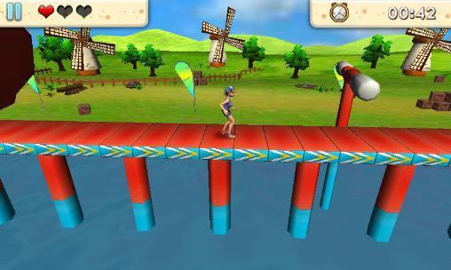 Runner games Amazing run 3D in English