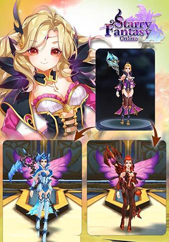 Starry fantasy online für Android