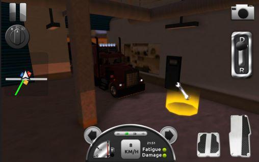 Скриншот Truck simulator 3D на андроид