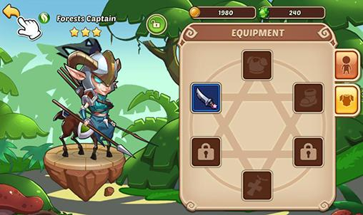 Screenshot Idle heroes on iPhone