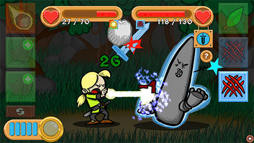 The weave of heroes: RPG Screenshot