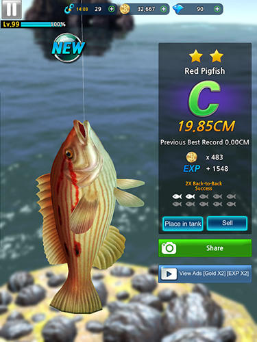 Monster fishing 2018 capture d'écran 3