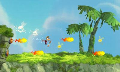 Juegos de arcade Rayman Jungle Run para teléfono inteligente