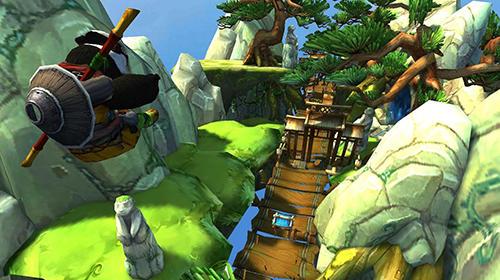 Ninja-Spiele Ninja panda dash auf Deutsch