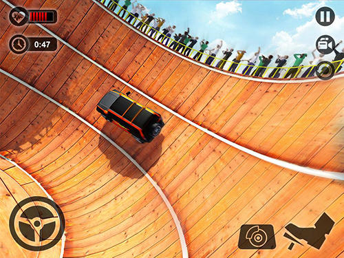 Rennspiele Well of death Prado stunt ride für das Smartphone