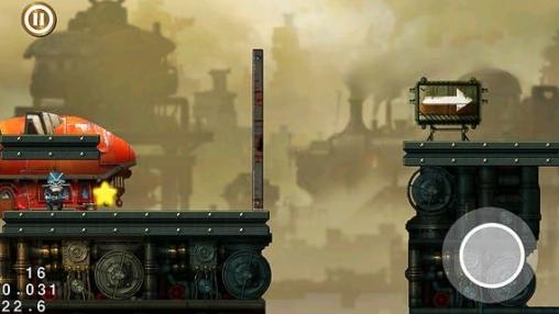 Le méchanisme à vapeur de la ville