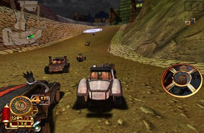 Multiplayer: Lade Steampunk Rennen 3D auf dein Handy herunter