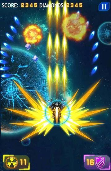 Arcade Galaxy wars: Space defense für das Smartphone