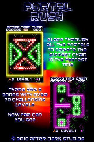 Arcade-Spiele: Lade Portal Rush auf dein Handy herunter