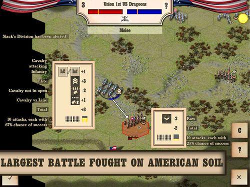 Strategie: Lade Bürgerkrieg: Bull Run 1861 auf dein Handy herunter