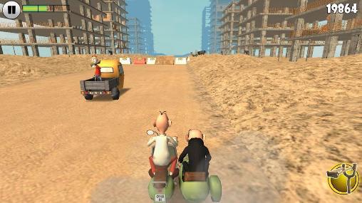 Mortadelo and Filemon: Frenzy drive screenshots