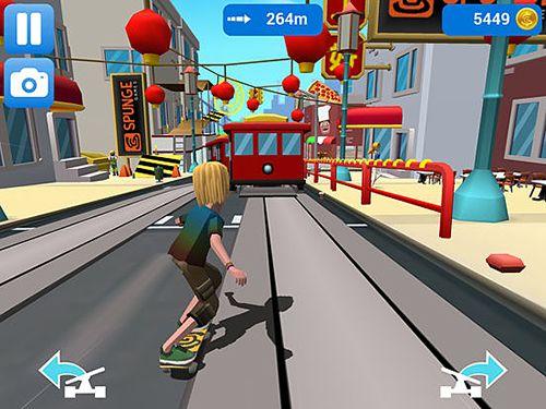 Arcade-Spiele: Lade Faily Skater auf dein Handy herunter
