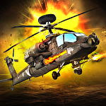 Helicopter battle 3D Symbol