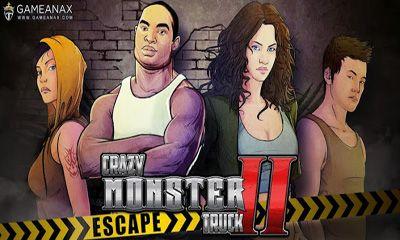 Crazy Monster Truck - Escape icono