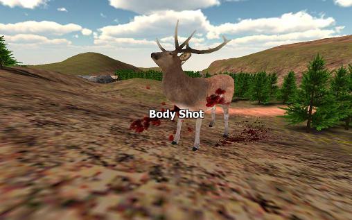 Sniper game: Deer hunting screenshot 1