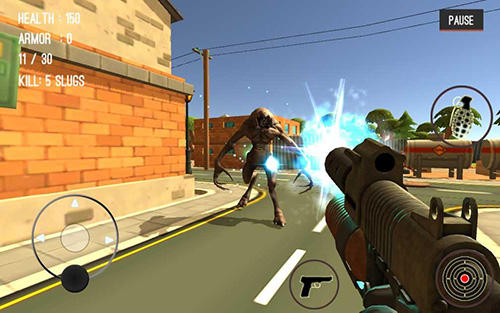 Monster killing city shooting 3: Trigger strike para Android